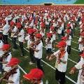 4000 тайваньских школьников побили рекорд одновременной игры на скрипке