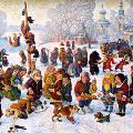 Русскую Масленицу празднуют на улицах Рима